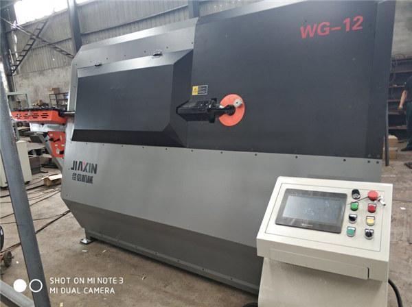 оборудование промышленного оборудования из деформированного бруса, изготовленного в автоматическом стропогибочном станте Синтай